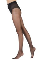 Pretty Polly Nylons 10D Gloss Tights Black L