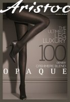 Aristoc Opaque 100D Cashmere Blend Tights GreyMarl ML