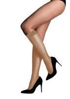 Aristoc Ultra 10D Shine Knee Highs - 3 Paar Nude One Size
