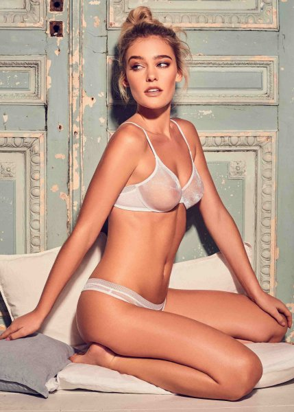 Gossard Glossies Moulded BH White