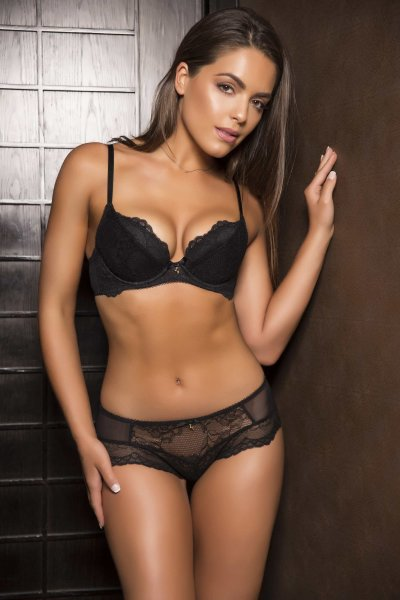Gossard Lace Push-Up BH Black