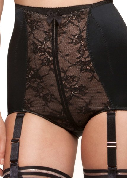 Gossard VIP Retrolution Miederhose Black