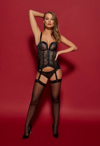 Gossard VIP Retrolution Corsage Black