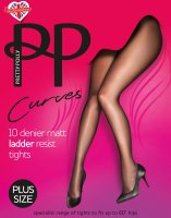 Pretty Polly Curves 10D Matt Run Resist Tights