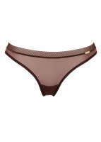 Gossard Glossies String Chocolate M