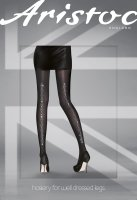 Aristoc Catwalk Trends Diamond Backseam Tights