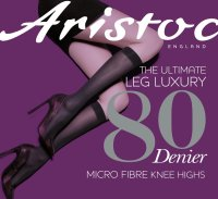 Aristoc Leg Luxury 80D Knee Highs