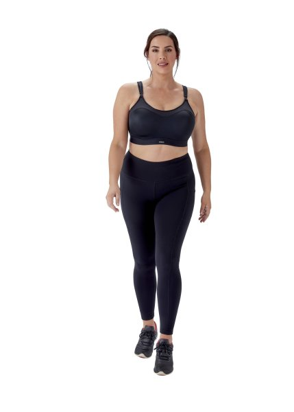 Berlei Sport Ultimate Performance Sport Crop Top mit Bügel Black