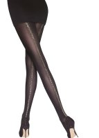 Aristoc Catwalk Trends Gold Backseam Opaque Tights