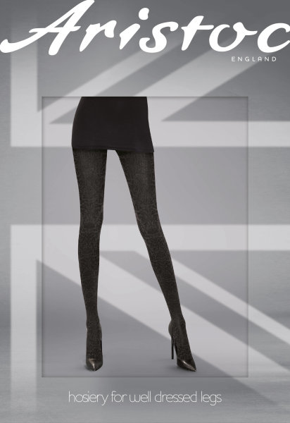 Aristoc Catwalk Trends Sparkle Check Tights