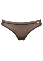 Gossard Glossies Slip Chocolate