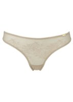 Gossard Glossies Lace String Nude S