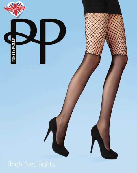 Pretty Polly Premium Fashion Thigh Net Tights