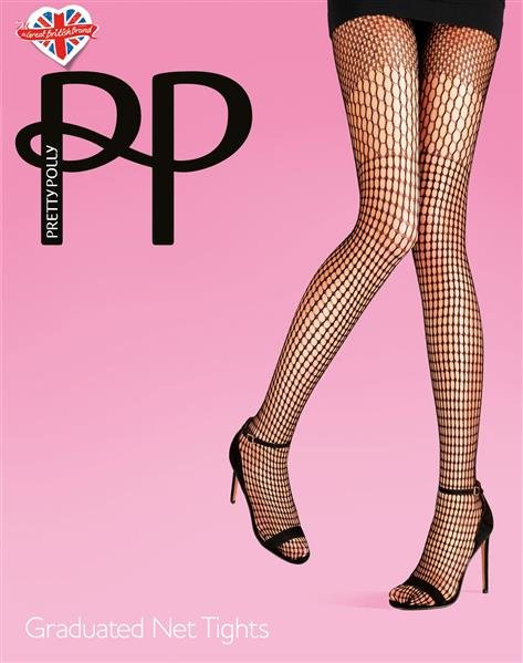 Pretty Polly Premium Fashion Graduated Net Tights