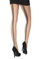 Pretty Polly Premium Fashion Backseam Desighn Tights