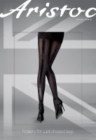 Aristoc Catwalk Trends Velvet Backseam Tights black ML