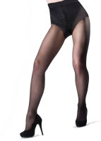 Pretty Polly In Shape Pattern Brief Firm Support Tights