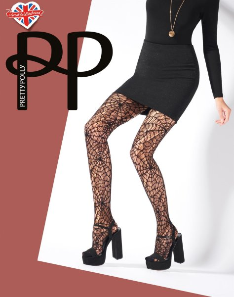 Pretty Polly Premium Fashion  Cobweb Net Tights