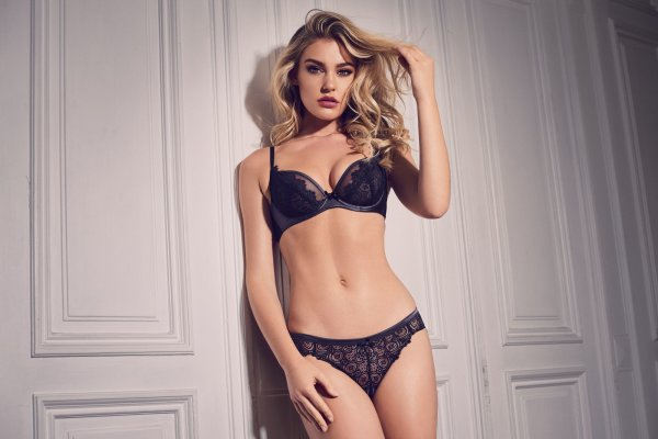 Gossard VIP Eyelash String Black