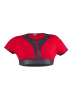 Geronimo Erotic Mission Bolero mit Nieten Red