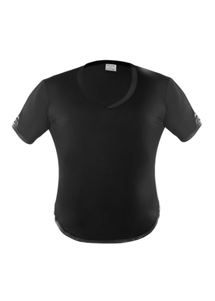 Geronimo Erotic Mission T-Shirt mit Niete Black