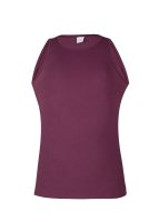 Geronimo Basic Basic Comfort Tank-Top Bordeaux