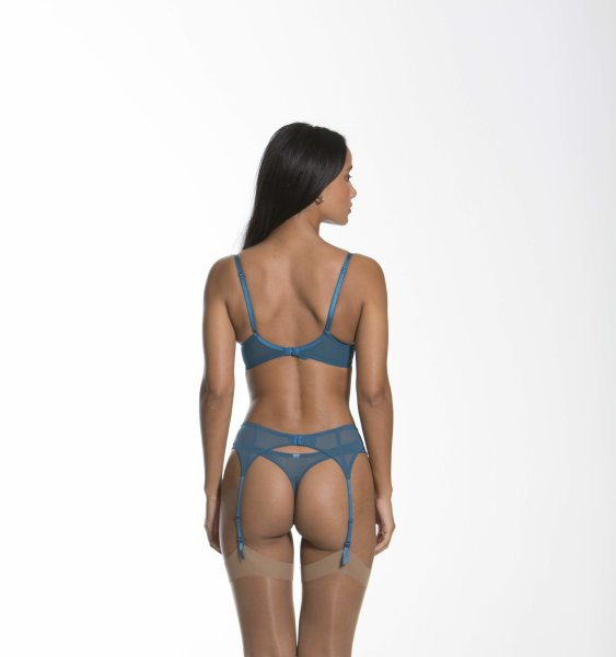 Gossard Lace Natural Push-Up BH Inkblue