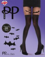 Pretty Polly Halloween Bat Tights Black OS