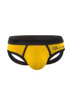 Geronimo Basic Sportive Jock-Strap Yellow