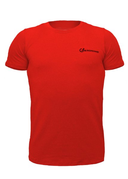 Geronimo Basic Sportive T-Shirt Red