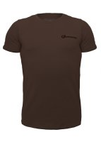 Geronimo Basic Sportive T-Shirt Brown L