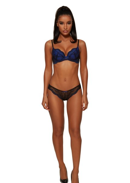 Gossard Lace Slip Black/ Electric