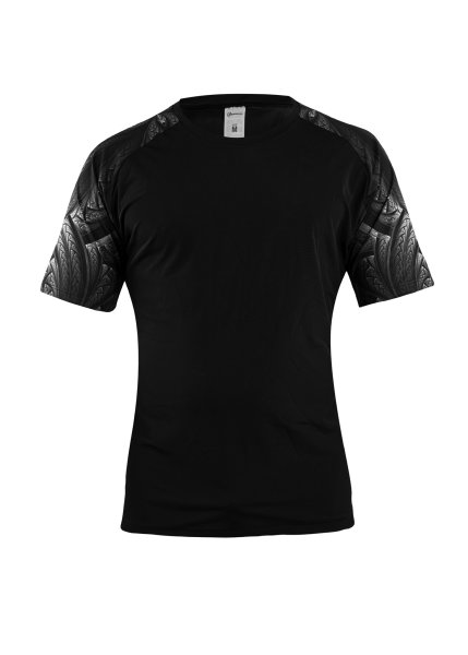 Geronimo Fashion Braid Games T-Shirt Black