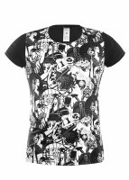Geronimo Fashion Japan T-Shirt Black