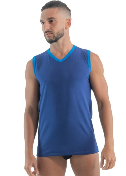 Geronimo Fashion On Top Tanktop Blue