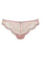 Gossard Lace String Balettpink/Silver